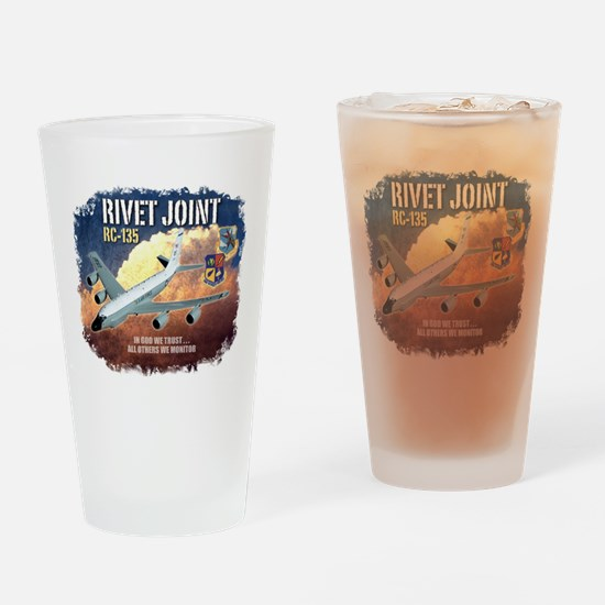 RC-135 Rivet Joint Drinking Glass