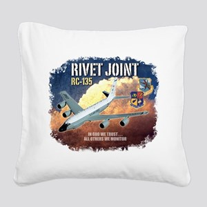 RC-135 Rivet Joint Square Canvas Pillow