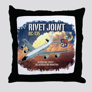 RC-135 Rivet Joint Throw Pillow