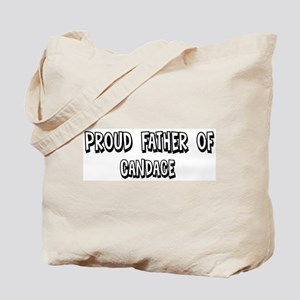 Father of Candace Tote Bag