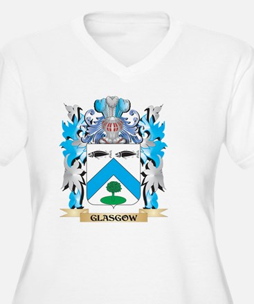 Glasgow Coat of Arms - Family Crest Plus Size T-Sh
