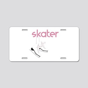 Skaters Skates Aluminum License Plate
