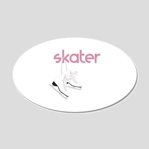 Skaters Skates Wall Decal