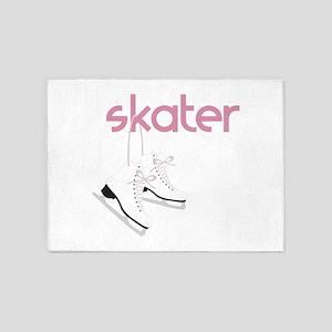 Skaters Skates 5'x7'Area Rug