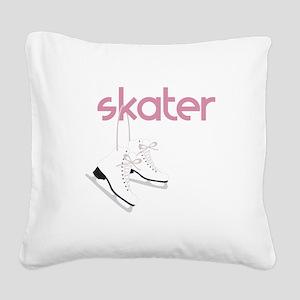 Skaters Skates Square Canvas Pillow