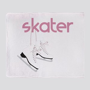 Skaters Skates Throw Blanket