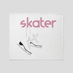 Skaters Skates Throw Blanket