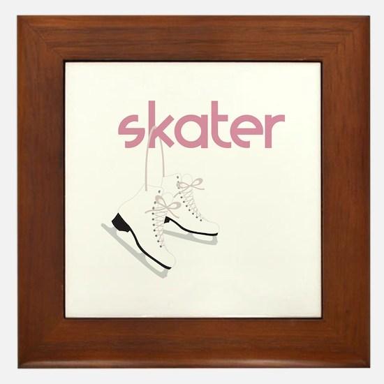 Skaters Skates Framed Tile