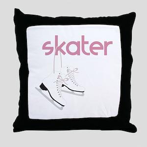 Skaters Skates Throw Pillow