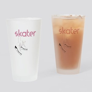 Skaters Skates Drinking Glass