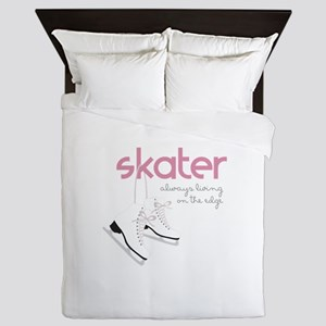 Living on the Edge Queen Duvet