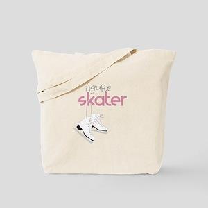 Figure Skater Tote Bag