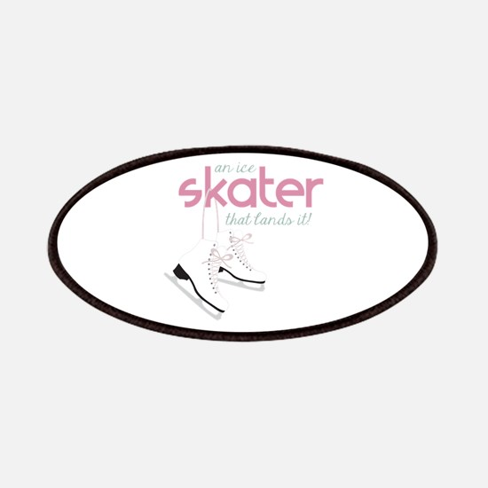 Skater Lands It Patches