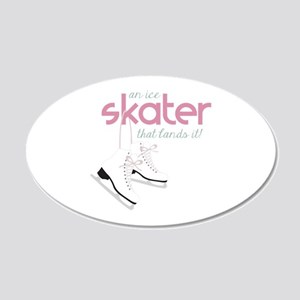 Skater Lands It Wall Decal