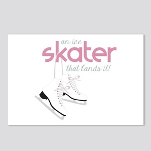 Skater Lands It Postcards (Package of 8)