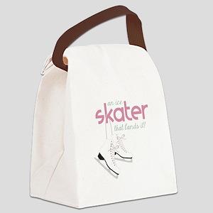 Skater Lands It Canvas Lunch Bag