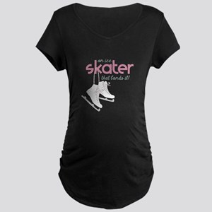Skater Lands It Maternity T-Shirt