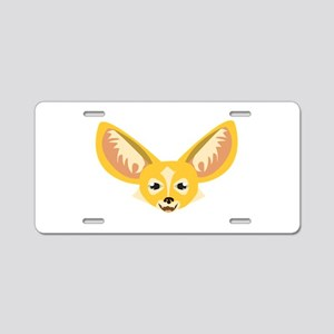 Big Ears Aluminum License Plate