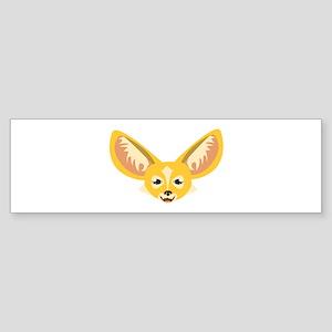 Big Ears Bumper Sticker
