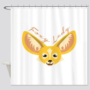 Foxy Lady Shower Curtain