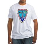USS LOFBERG Fitted T-Shirt