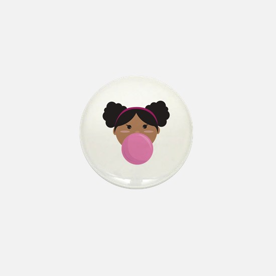 Bubble Gum Mini Button