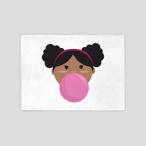 Bubble Gum 5'x7'Area Rug