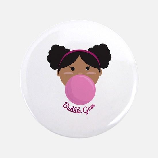 """Bubble Gum Princess 3.5"""" Button"""