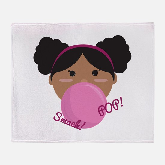 Smack Pop Throw Blanket