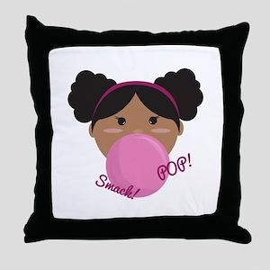 Smack Pop Throw Pillow