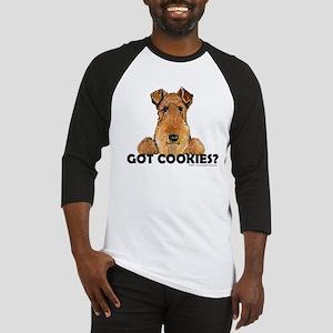 Welsh Terrier Cookies Baseball Jersey