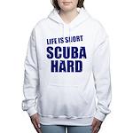 Scuba Hard Women's Hooded Sweatshirt