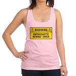 Warning: Newbie Diver Racerback Tank Top