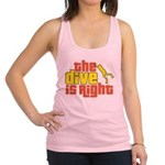 The Dive Is Right Racerback Tank Top