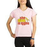 The Dive Is Right Performance Dry T-Shirt