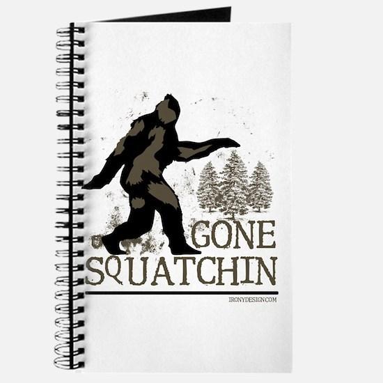 Cute Bobos gone squatchin Journal