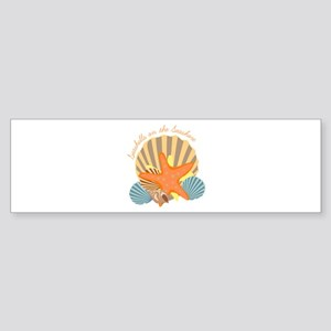 Seashells On The Seashore Bumper Sticker