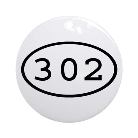 302 Oval Ornament (Round)