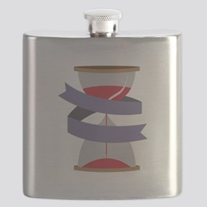 Hourglass Caption Flask