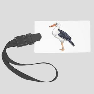 Albratross Bird Luggage Tag