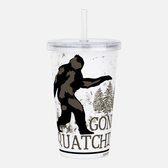Unique Yeti Acrylic Double-wall Tumbler