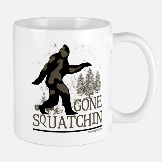 Sasquatch Gone Squatchin Mugs