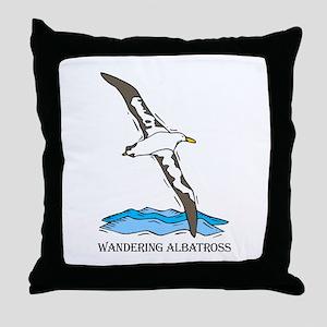 Albratross Bird Throw Pillow