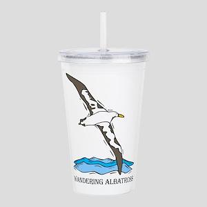 Albratross Bird Acrylic Double-wall Tumbler
