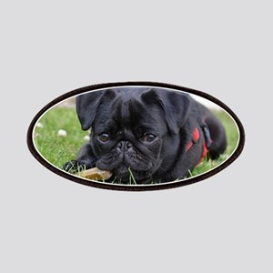 Pug dog Patches