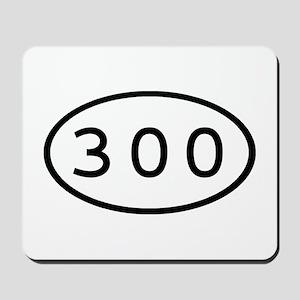 300 Oval Mousepad
