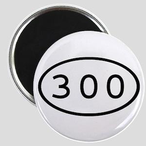300 Oval Magnet