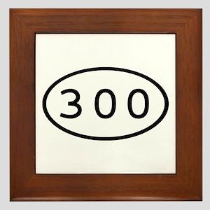 300 Oval Framed Tile