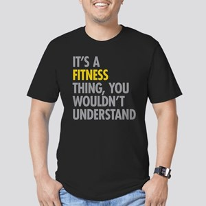 Its A Fitness Thing Men's Fitted T-Shirt (dark)