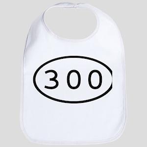 300 Oval Bib